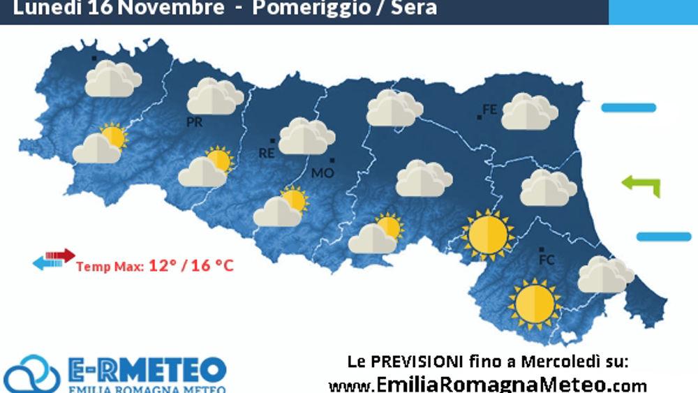 Sole in appennino e nubi basse in pianura le previsioni - Previsioni bagno di romagna ...