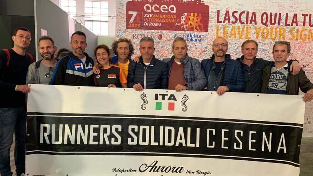 """Esordio alla Maratona di Roma dei """"Runners solidali Cesena ..."""
