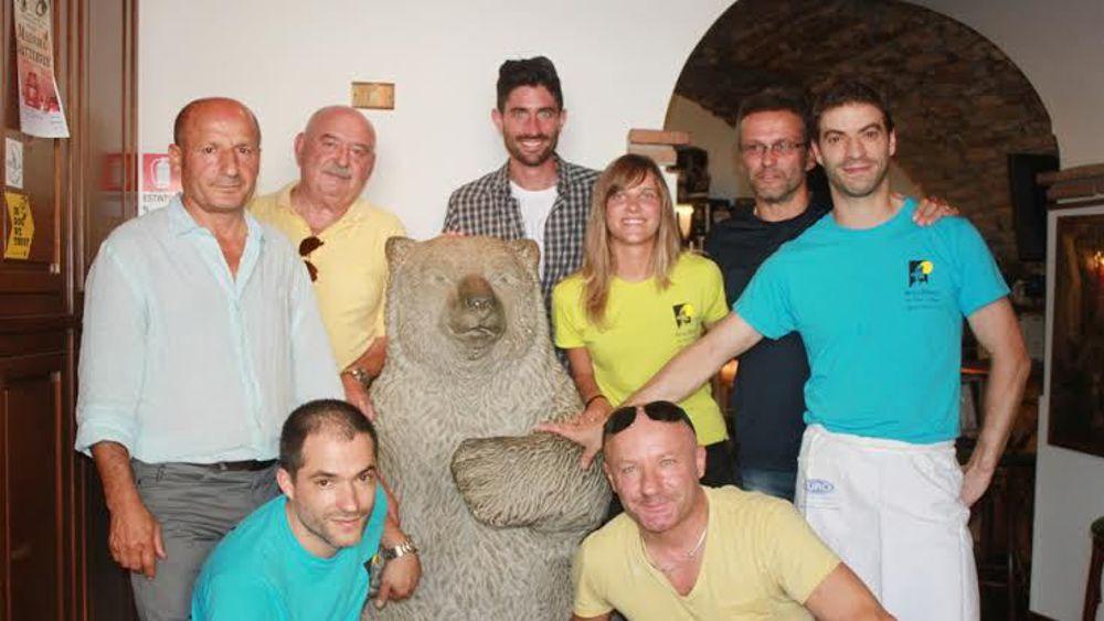 Festeggiati i 30 anni dell 39 orso bianco a san piero in bagno - San pietro in bagno ...