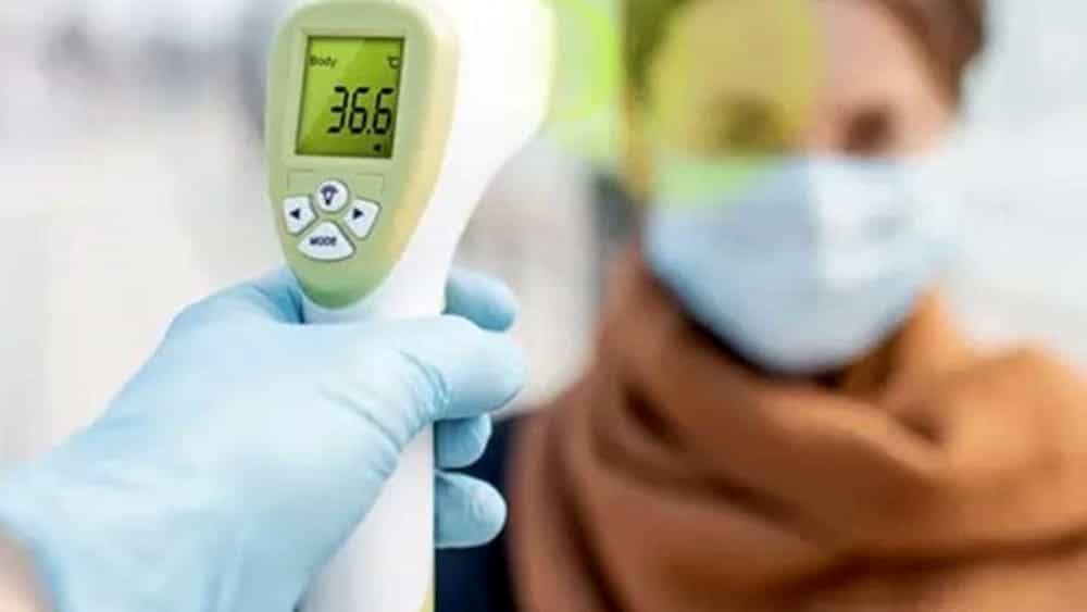 Termoscanner Per Misurare La Febbre Come Funziona #covid19 | con termómetros digitales se controla a los pasajeros que arriban a la terminal terrestre reina de el cisne. termoscanner per misurare la febbre